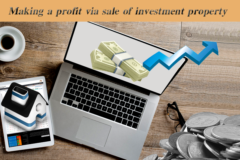 Making-a-profit-via-sale-of-investment-property