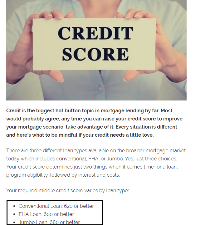 Dc Fawcett Real Estate credit score