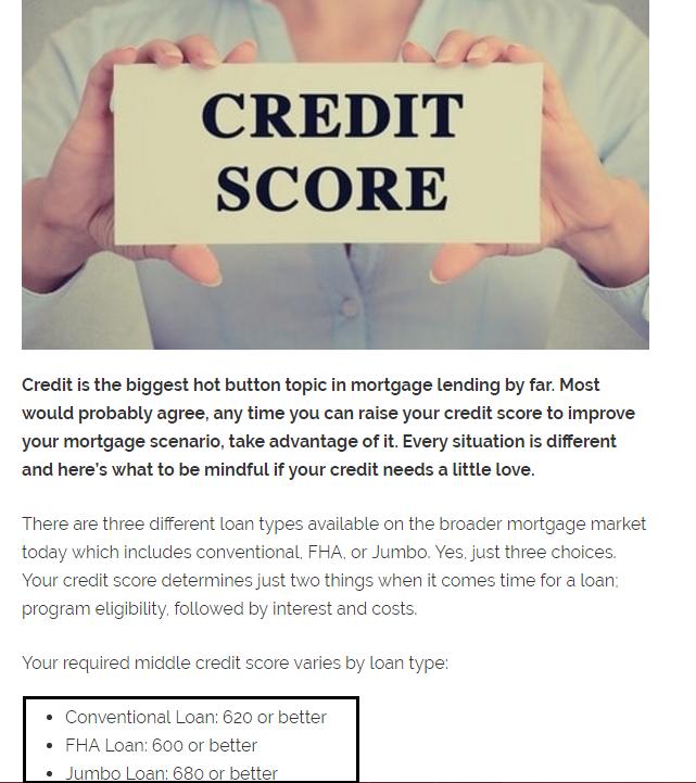 Dc Fawcett Real Estate credit score