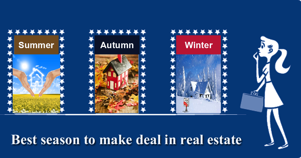 Best season to make deal in real estate – DC Fawcett