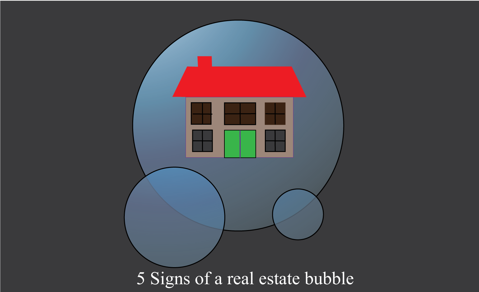 DC Fawcett's Signs of a real estate bubble
