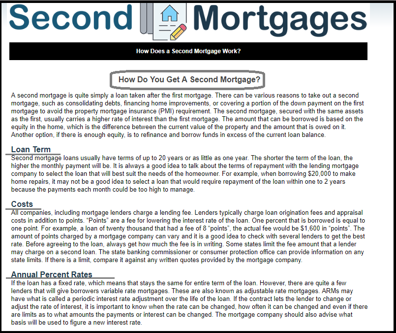 DC Fawcett Virtual Wholesaling - second mortgagaes